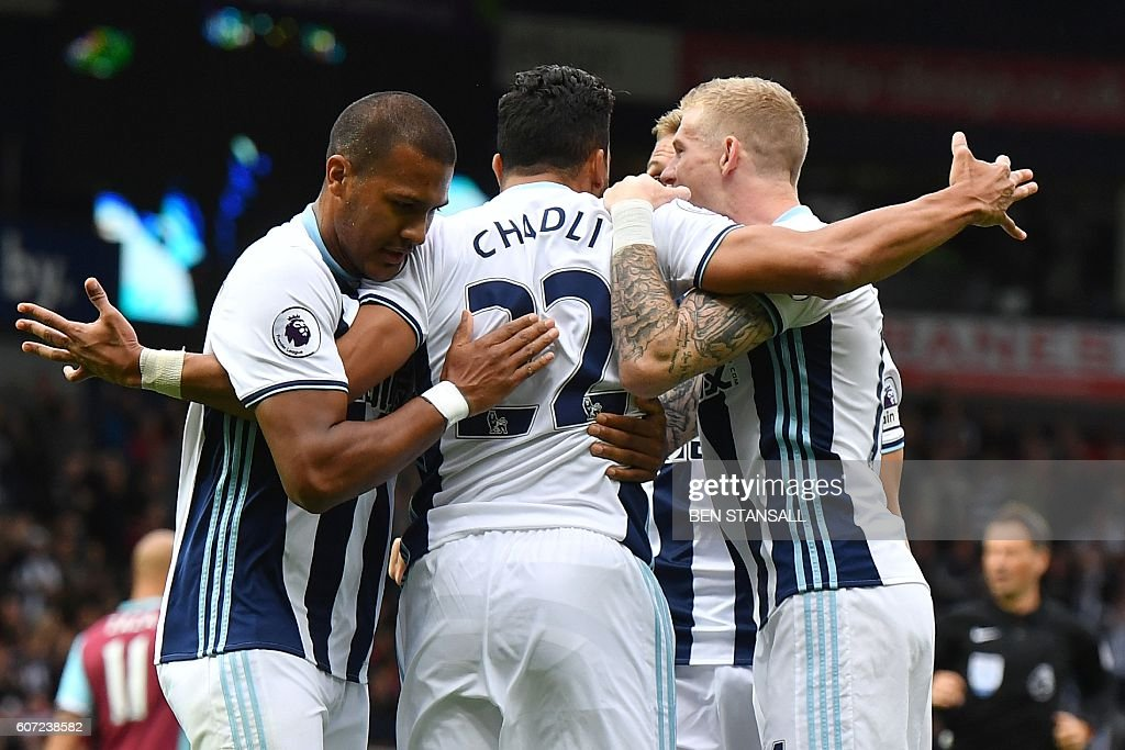 FBL-ENG-PR-WEST BROM-WEST HAM : News Photo