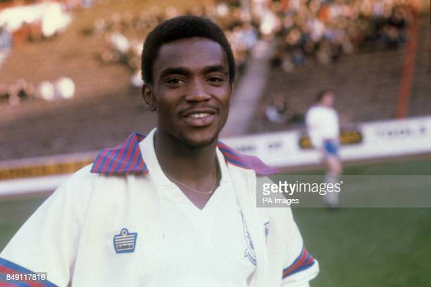 West Bromwich Albion's Laurie Cunningham ahead of the England under21 match against Finland