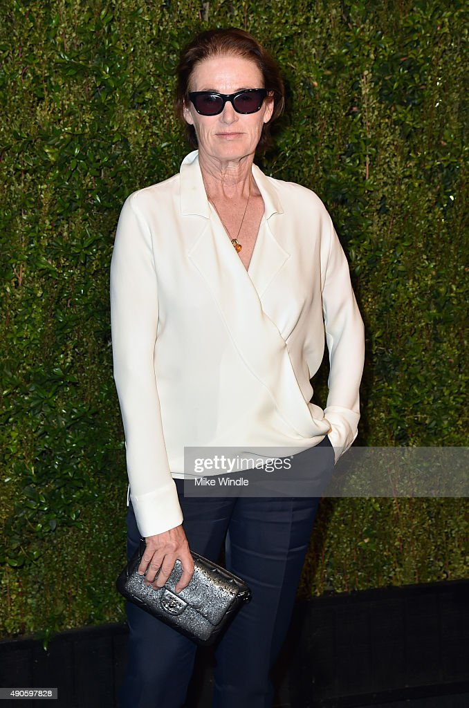West Coast Director of Vogue and Teen Vogue Lisa Love attends CHANEL Dinner in Honor of Baby2Baby at CHANEL Boutique on September 29, 2015 in Los Angeles, California.