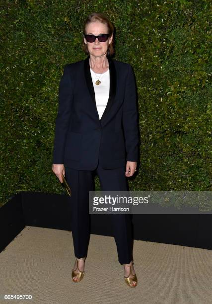 West Coast Director of Vogue and Teen Vogue Lisa Love attends the celebration of Chanel's Gabrielle Bag hosted by Caroline De Maigret and Pharrell...