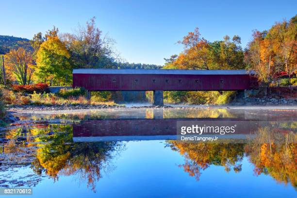 West Cornwall Bridge on the Housatonic River in the Litchfield Hills of Connecticut