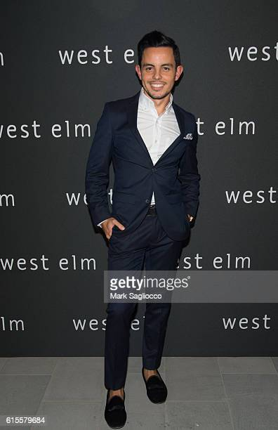 West Elm PR Influencer Marketing Manager Dru Ortega attends the West Elm Headquarters Party at 55 Water Street on October 18 2016 in New York City