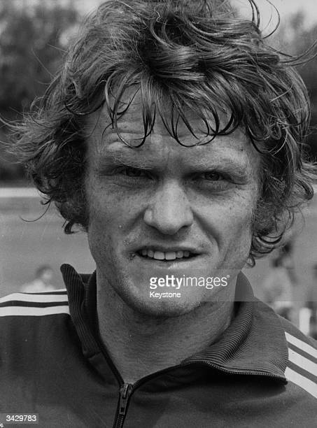 West German goalkeeper Sepp Maier