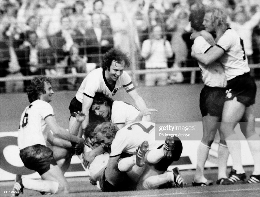 Soccer World Cup West Germany 74 Group B West Germany v