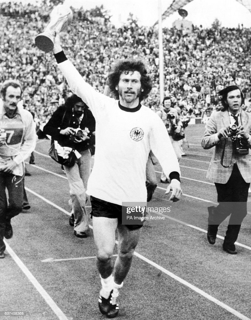 Soccer World Cup West Germany 74 Final West Germany v