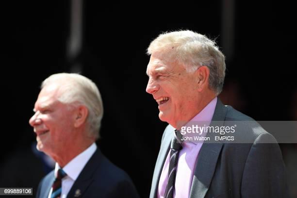 West Ham United Chairman David Gold and Director of Football Development Sir Trevor Brooking
