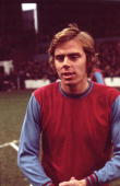 West Ham United FC player Harry Redknapp before the kick off against Manchester City FC