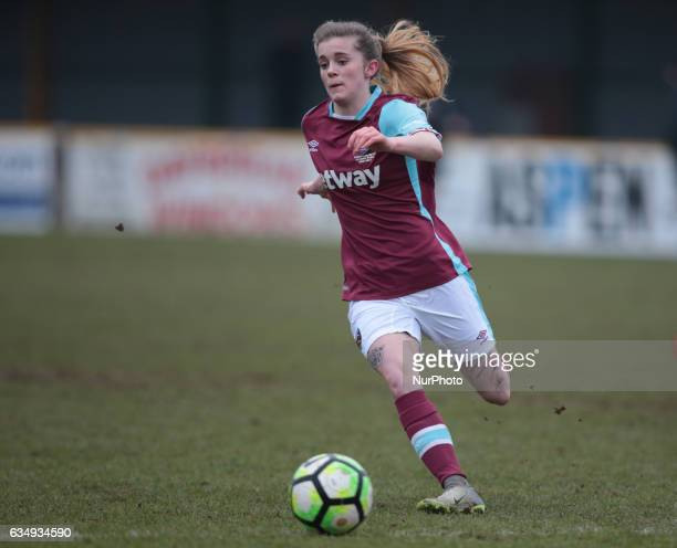 West Ham United Ladies Molly Peters during FA Women's Premier League Southern Division West Ham United Ladies against Portsmouth Ladies at Arena...