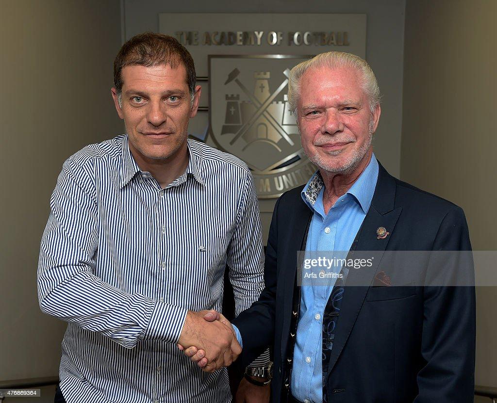 West Ham United Unveil New Manager Slaven Bilic