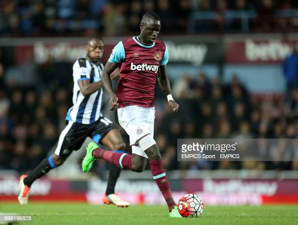 West Ham United's Cheikhou Kouyate in action during the Barclays Premier League match at Upton Park London