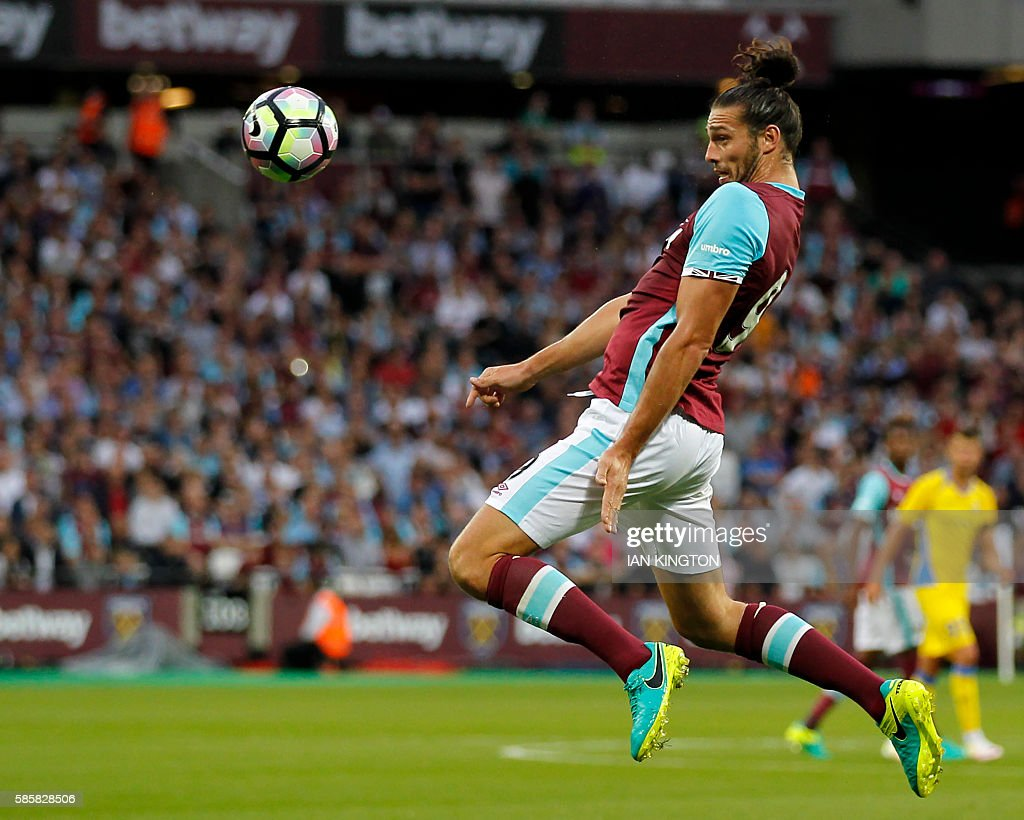 FBL-EUR-C3-WEST HAM-DOMZALE : News Photo
