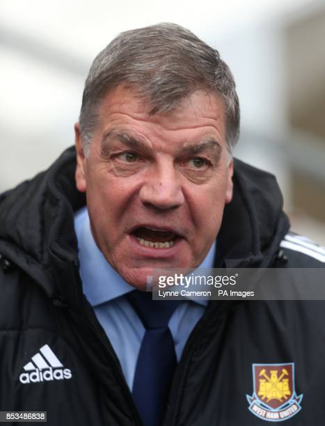 West Ham United's manager Sam Allardyce