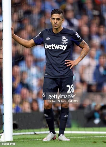 West Ham United's Manuel Lanzini