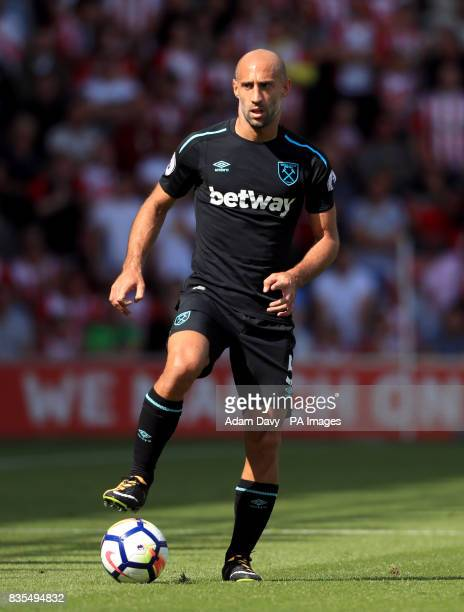 West Ham United's Pablo Zabaleta