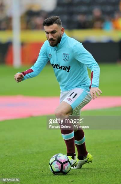 West Ham United's Robert Snodgrass