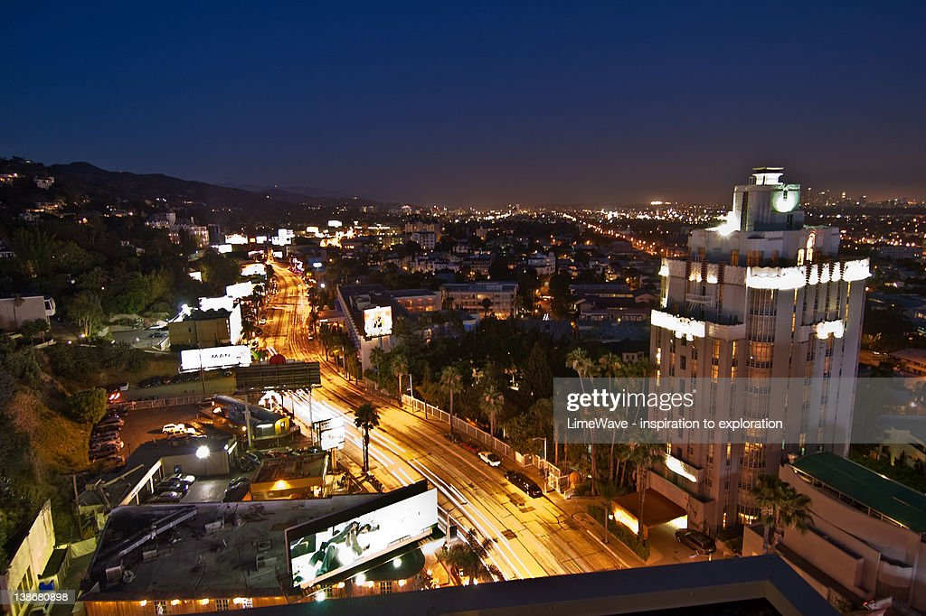 West Hollywood at Sunset