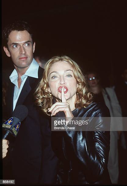 West Hollywood CA Madonna and Rupert Everett at the DGA Theater for the premiere of 'An Ideal Husband' benefiting The LIFE Foundation Photo by Brenda...