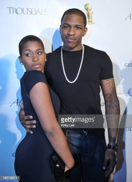 West Hollywood CA USA Rashad McCants and Kenyatta Bates at the Los Angeles Lakers Victory Party hosted by Magic Johnson at the Trousdale