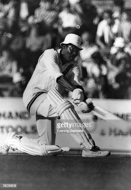 West Indian cricketer Clive Lloyd in action batting Original Publication People Disc HU0367