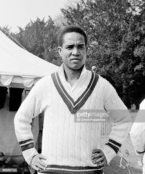 West Indian cricketer Garfield Sobers at Arundel 27th April 1963