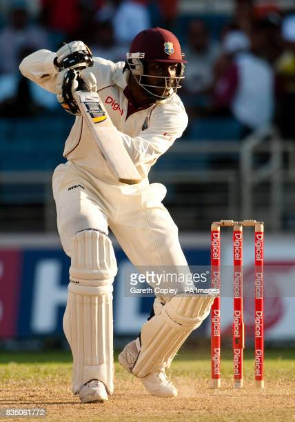 West Indies captain Chris Gayle during the First Test at Sabina Park Kingston Jamaica