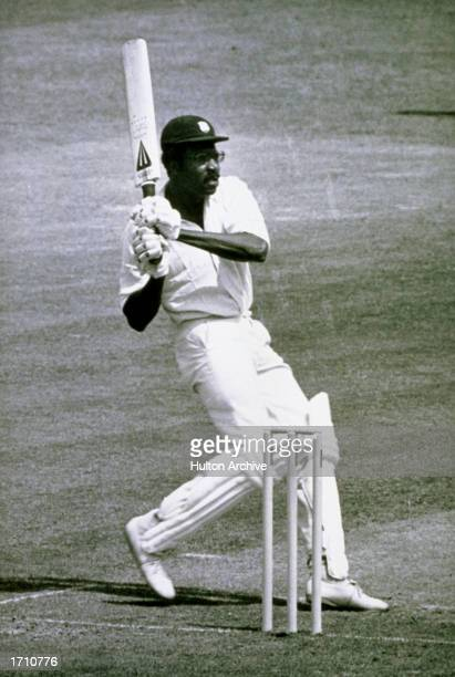 West Indies Captain Clive Lloyd on his way to a century during the World Cup Final against Australia at Lords in London West Indies won by 17 runs