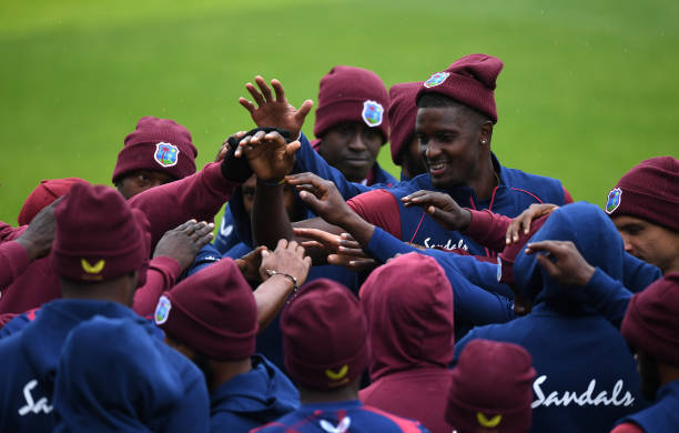 GBR: West Indies Nets Session