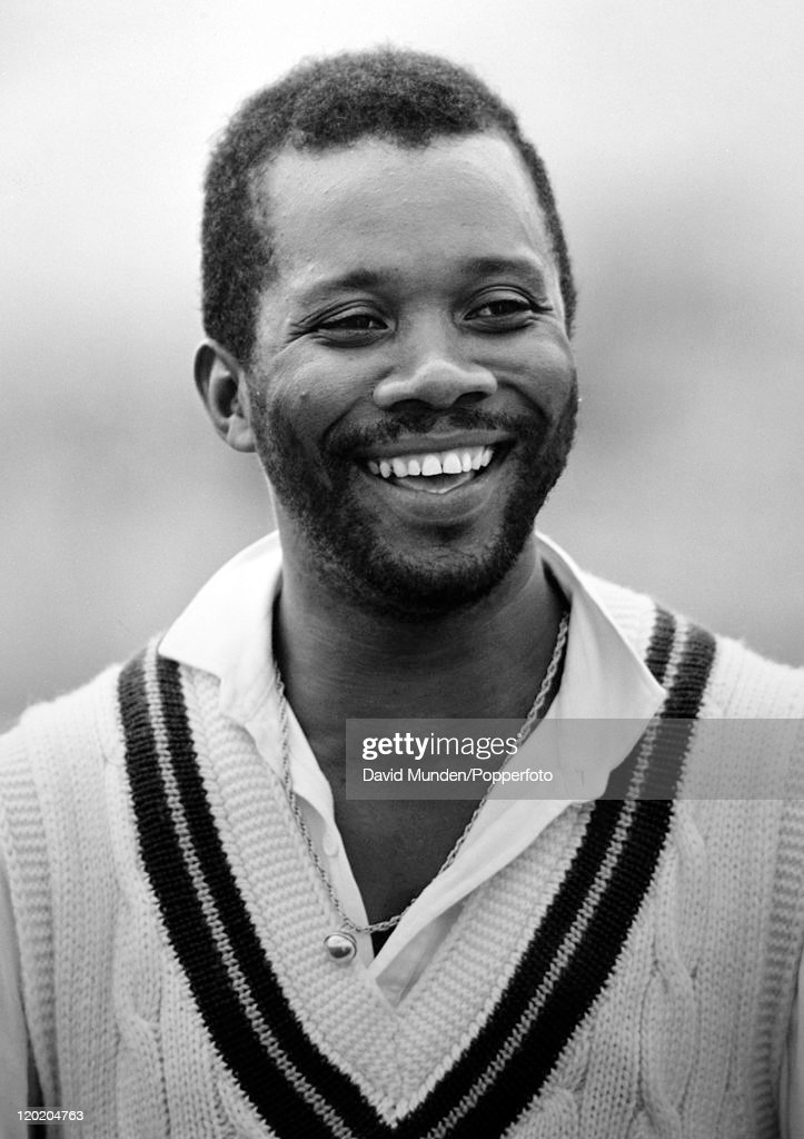 West Indies fast bowler Malcolm Marshall circa 1988