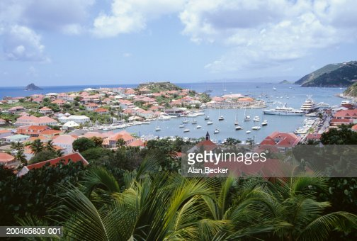 West Indies, French Antilles, Saint Barthelemy, Gustavia Harbor