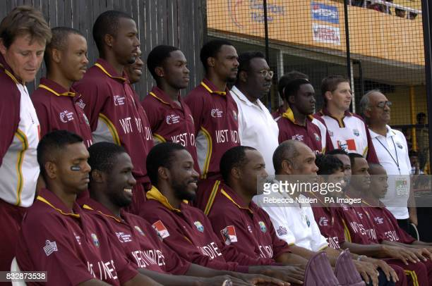 West Indies squad to play against England at the Sardar Patel Stadium Ahmedabad India Saturday 28th October 2006 PA Photo Rebecca Naden