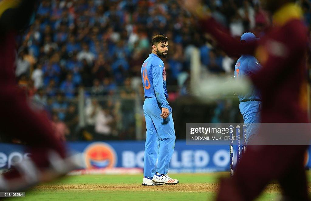 Cricket-WT20-2016-IND-WIS-CRICKET : News Photo