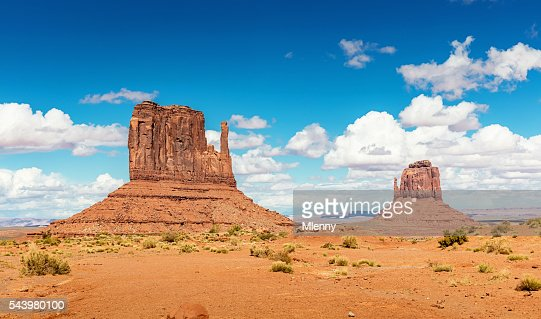 West Mitten and Merrick Butte Monument Valley Arizona