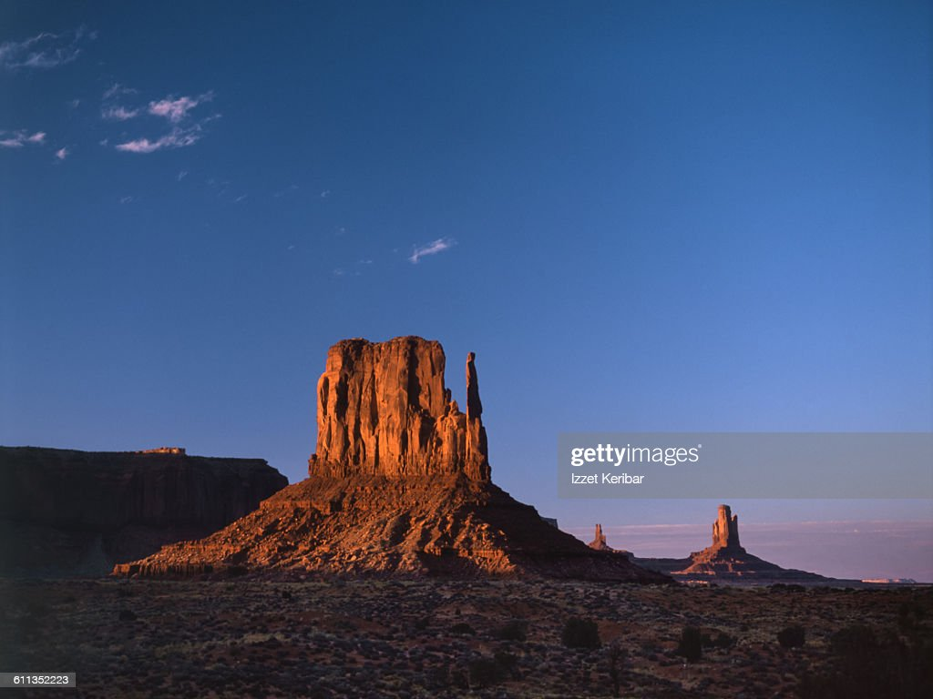 West Mitten at Monument Valley Arizona,USA