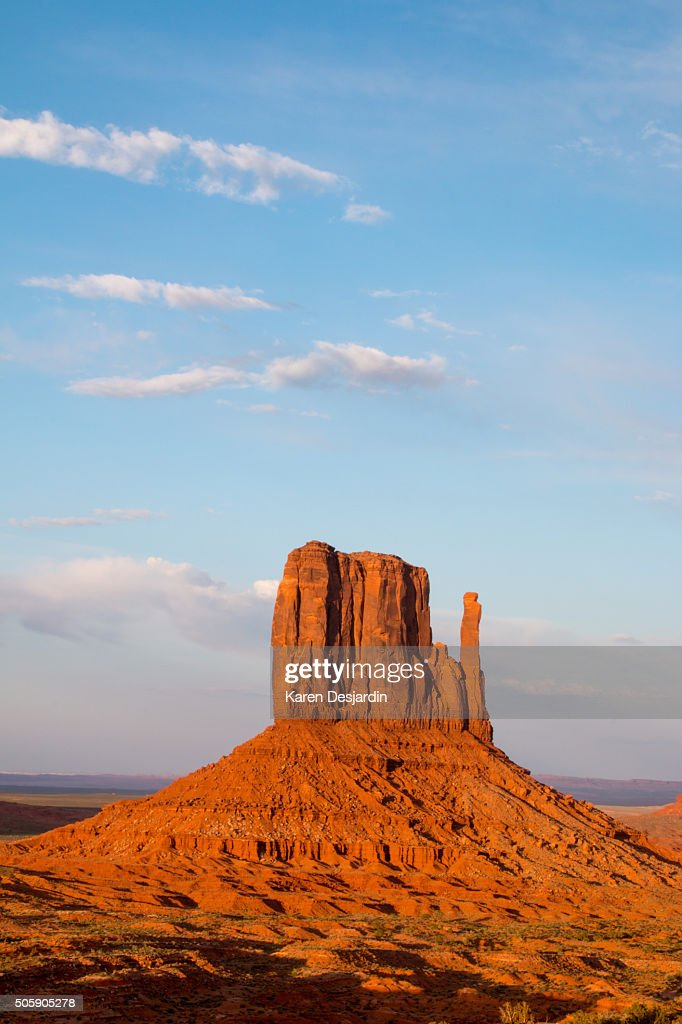 West Mitten Butte, Monument Valley, AZ
