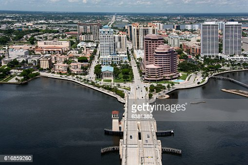 West Palm Beach Florida : Stock Photo