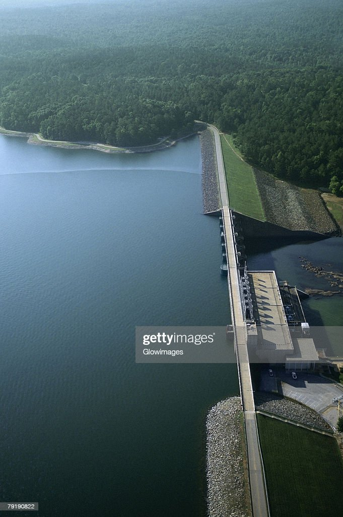 West Point hydroelectric dam, Georgia, USA : Foto de stock
