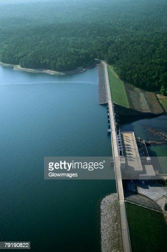 West Point hydroelectric dam, Georgia, USA : Stock Photo