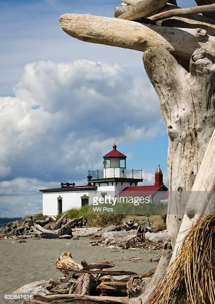 West Point Lighthouse Discovery Park Seattle Washington