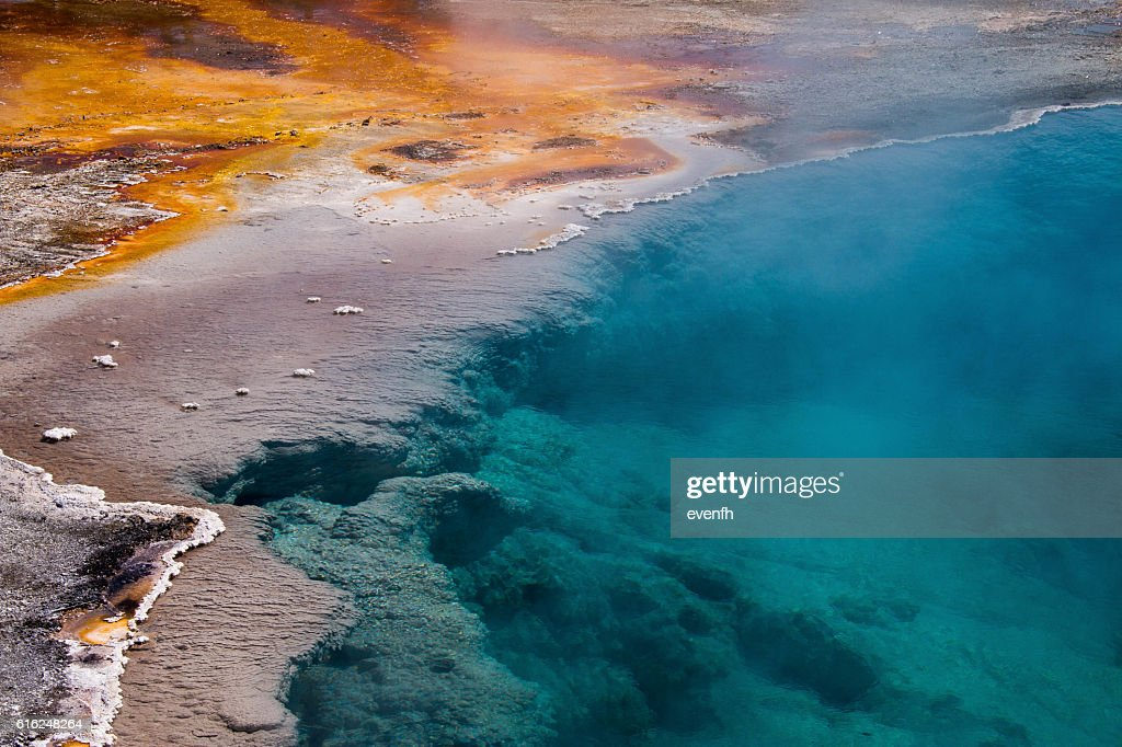 West Thumb Geyser Basin, Yellowstone National Park : Stock-Foto