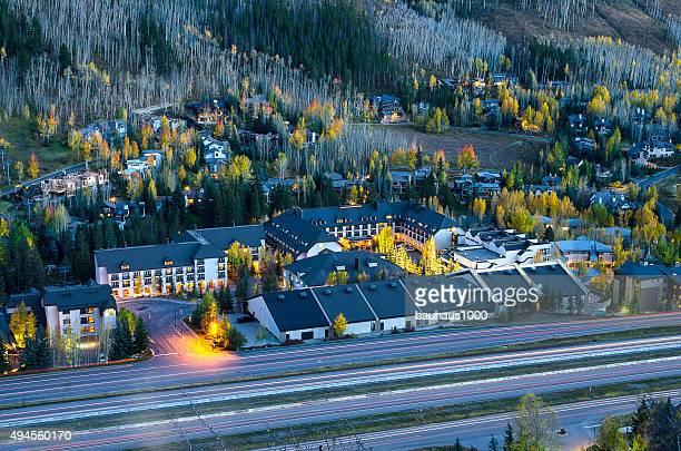 West Vail, Colorado in the Rocky Mountains