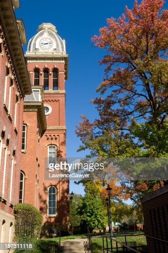 West Virginia University, clock tower