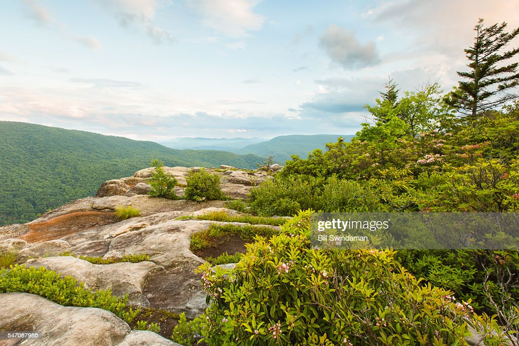 West Virginia View from Table Rock, Monongahela National Forest, Canaan Valley