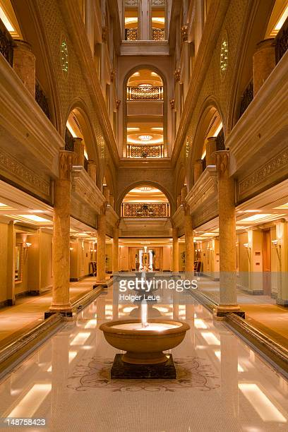 West wing of Emirates Palace Hotel.