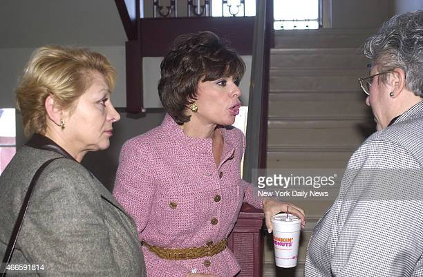 Westchester County Jeanine Pirro as they talk about Robert Durst who is wanted in Galveston Texas for the killing of a woman friend and for the...