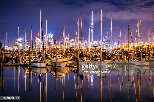 Westehaven Marina in Auckland