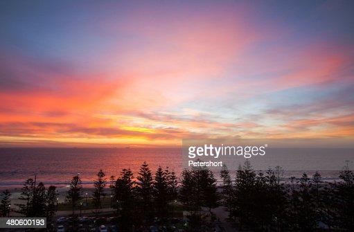 Western Australian Sunset : Stock Photo