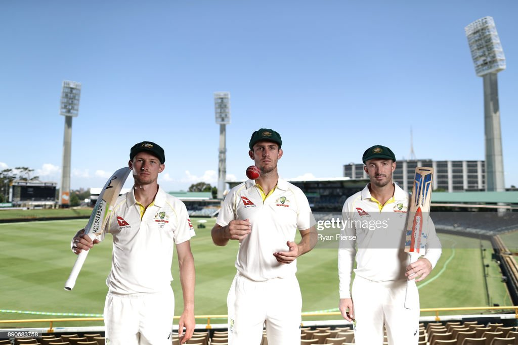 Western Australia's Test Players Portrait Session