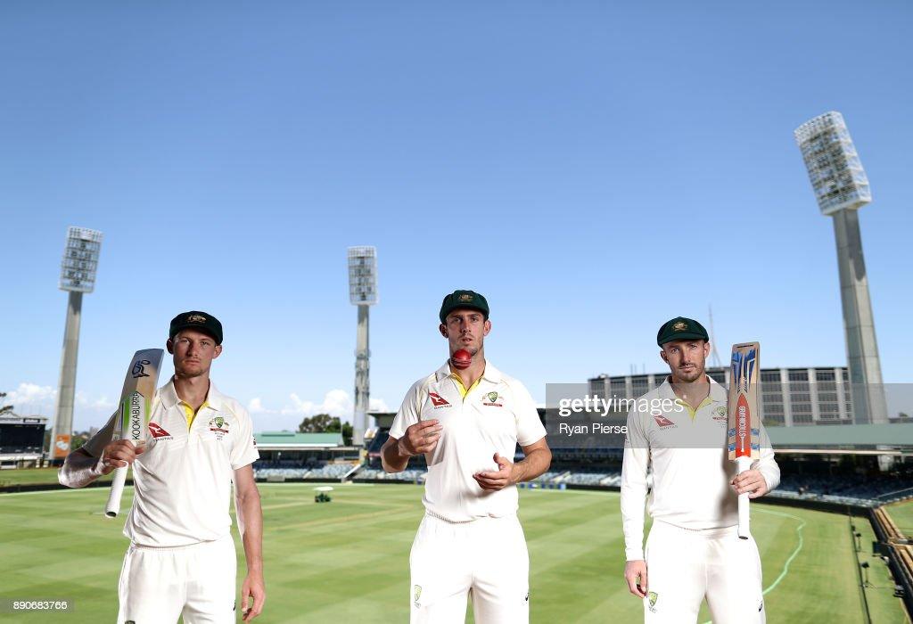 Western Australia's Test Players Portrait Session