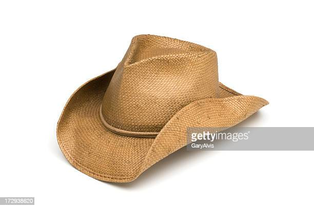 Western Cowboy Work Hat-isolated on white
