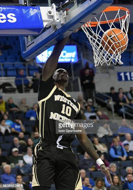 Western Michigan guard Thomas Wilder hits a shot in the first half during a nonconference basketball game between the Western Michigan Broncos and...